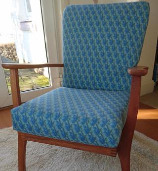 Mid century fireside chair