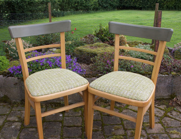 Pair of Quitmann kitchen chairs
