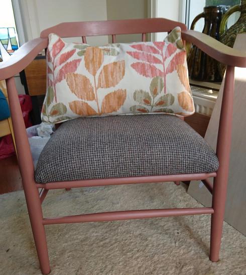 Mid century armchair.