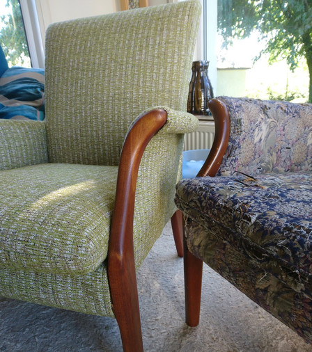 Pair of Parker Knoll arm chairs.