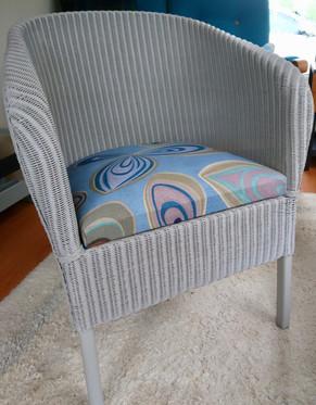 Classic Lloyd Loom bedroom chair