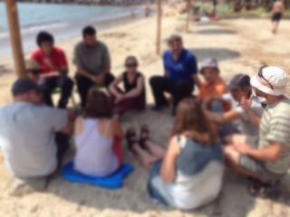 """Πρώτη συνάντηση με τα παιδιά από τη """"Δίοδος"""""""