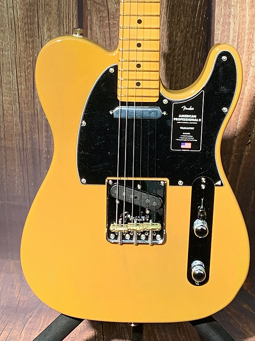 Fender American Professional II Telecaster 2020 Butterscotch Blonde