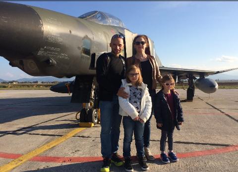 Επίσκεψη στο αεροδρόμιο της Αγχιάλου
