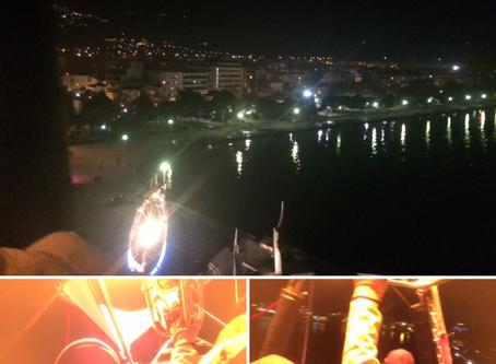 Η πόλη από ψηλά με αερόστατο