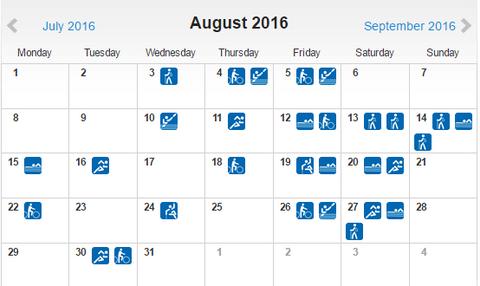 Χαλαρά τον Αύγουστο