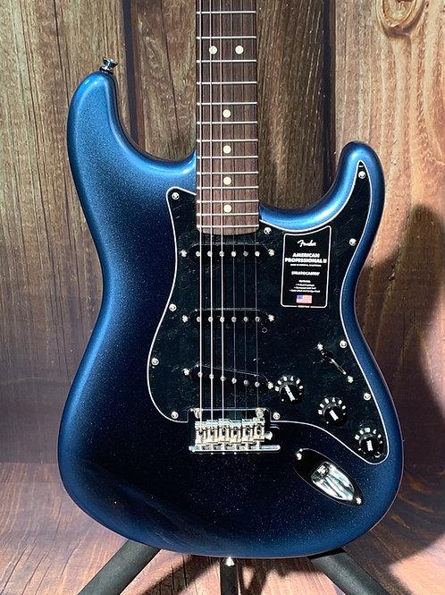 Fender American Professional II Stratocaster w/Rosewood Fretboard 2020 DarkNight