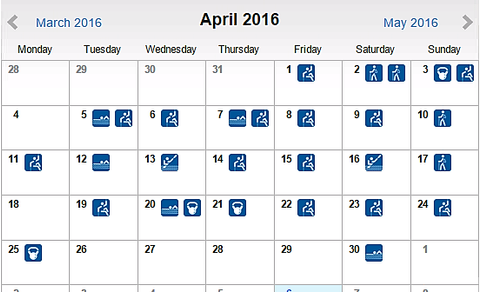 Προπονήσεις Απριλίου
