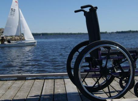 Η αναπηρία δεν πρέπει να αποτελεί εμπόδιο για να απολαμβάνει κανείς τις χαρές της ζωής.