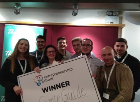 Βραβείο για το project «Geine guide»