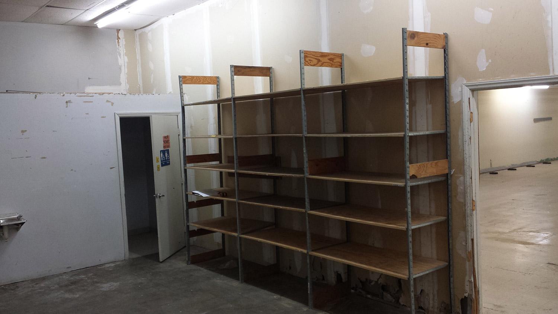 Back Storage & Bathroom