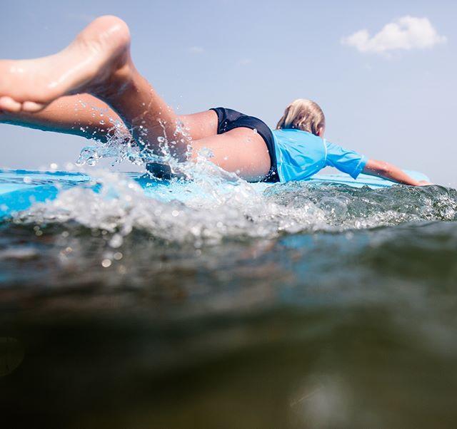 Paddle, paddle, paddle and... #girlsride