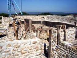 réalisation mur musée Nancray