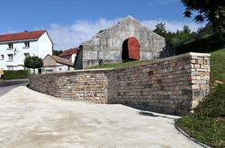 rénovation lavoir Fontain