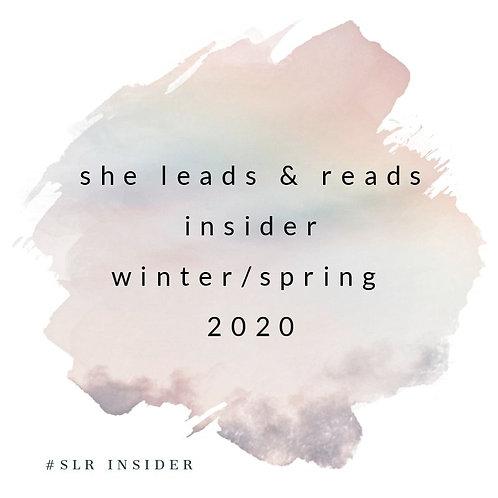 She Leads & Reads Insider Bundle Winter/Spring 2020