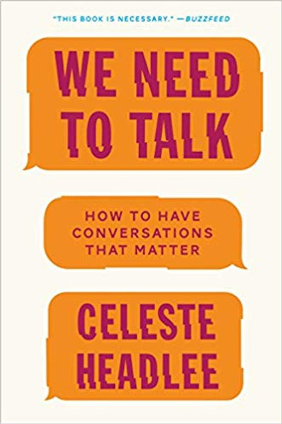 We Need to Talk Book Chat & Networking Event