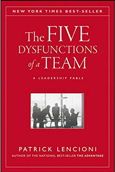 The Five Dysfunctions of a Team Book Chat & Networking Event