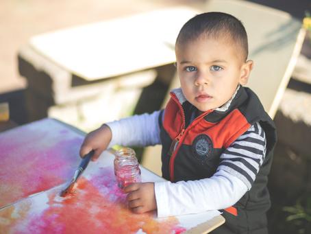 Picture Day in the Marigold Children's Garden
