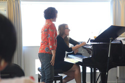 Voice lessons and masterclasses