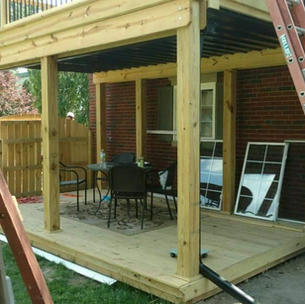 Two-Tiered Deck