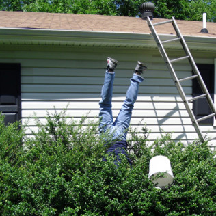 Why spend more on a professional when that handy guy down the street can do the job cheaper?