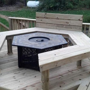 Fire Pit Platform
