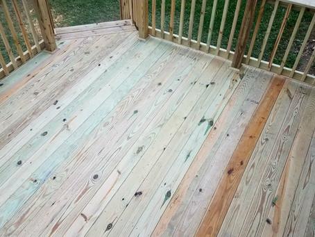 Composite versus Wood Decks