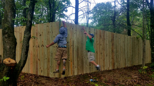 8-Foot Tall Privacy Fence