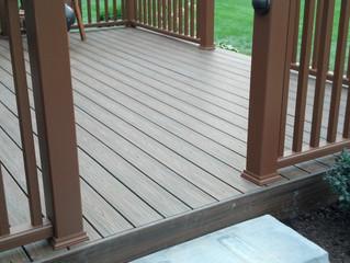 Pressure treated vs. Composite decks