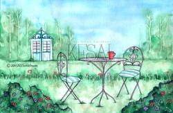 Garden and a Coffee