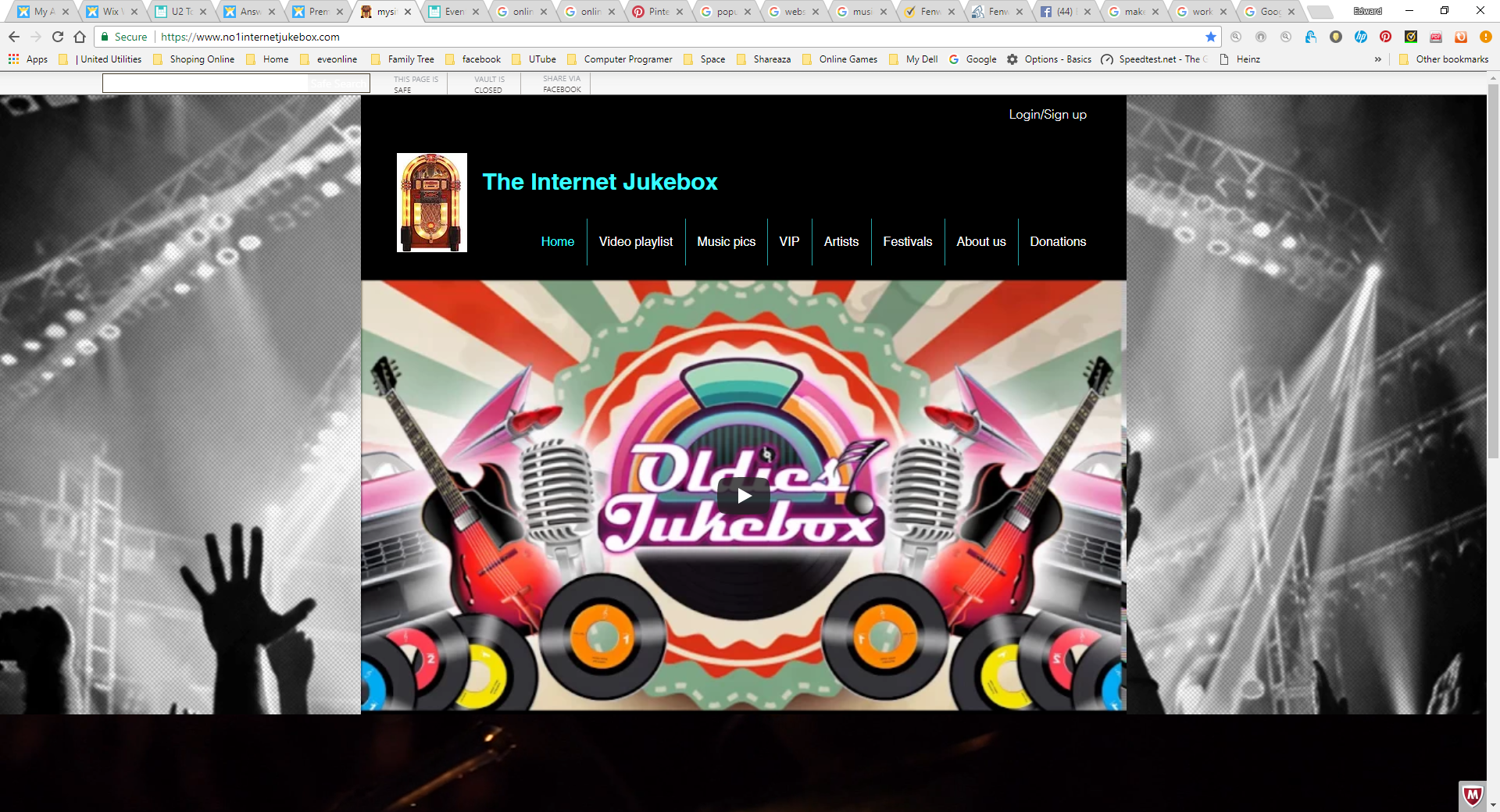 Internet jukebox | live Radio