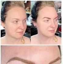 powder brow progress