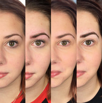 yearly combo brow progress