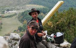 Gilles et Honoré en accro