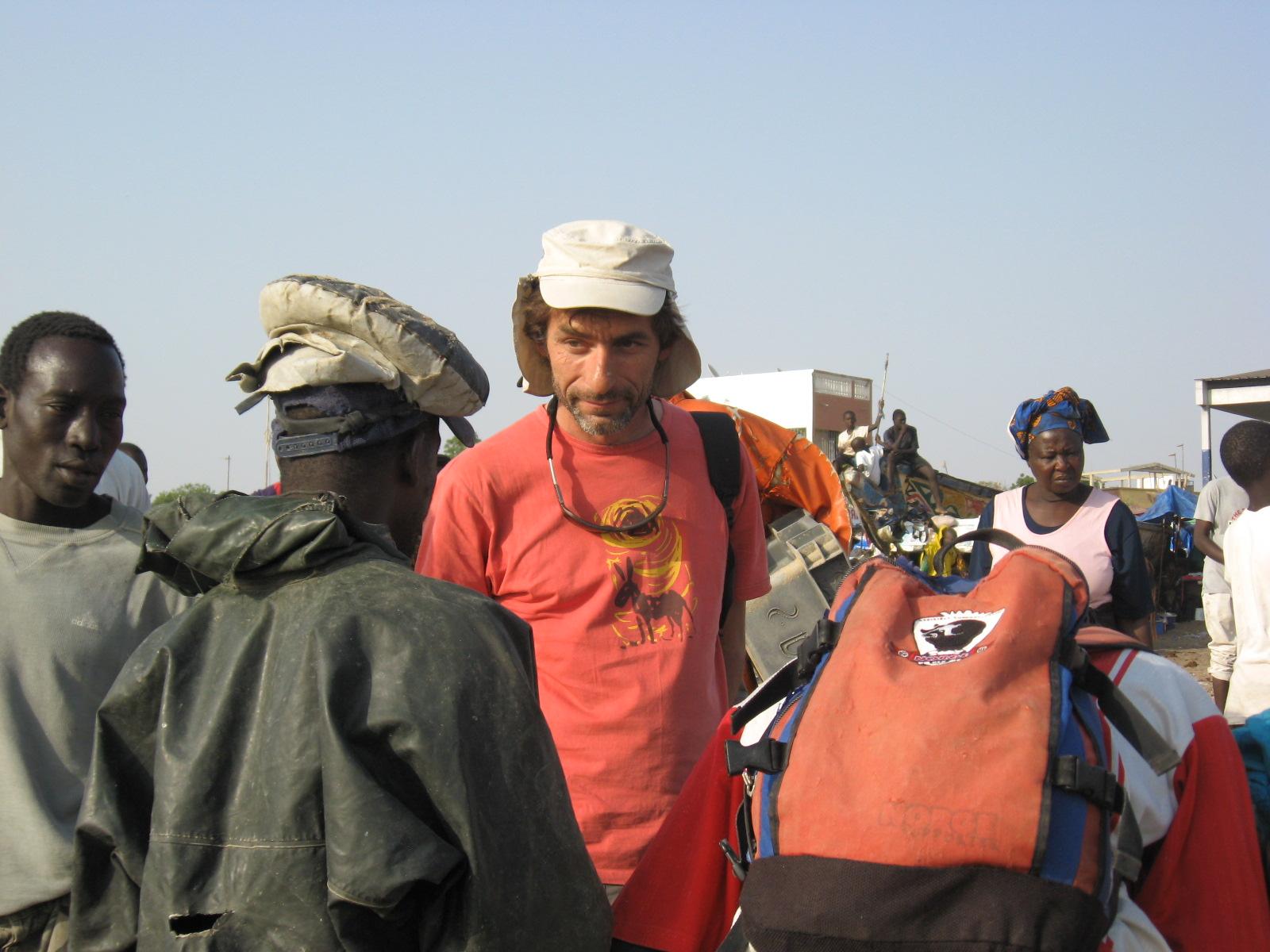 Gilles en Afrique