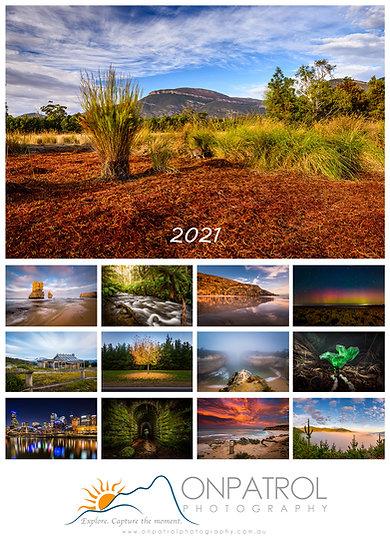 2021 Landscape Photography Calendar