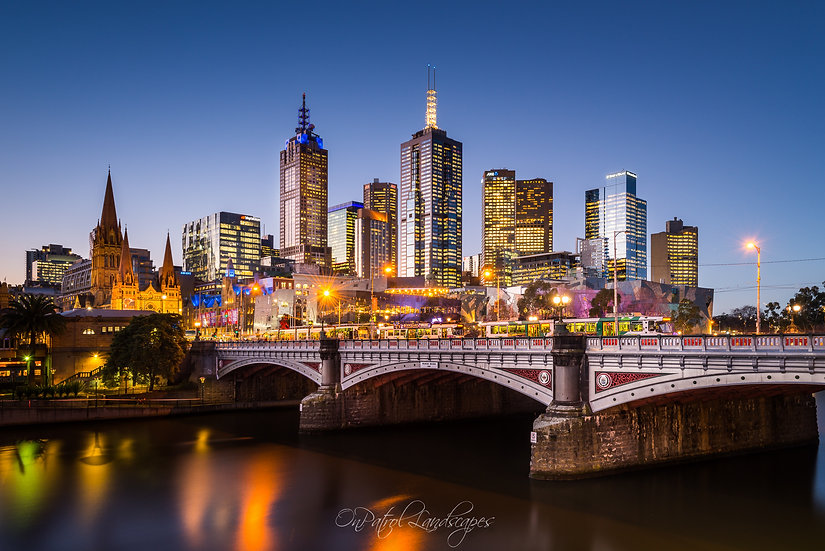 """Melbourne By Night"""
