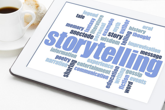 Story telling is the pathway to improved sales & client engagement