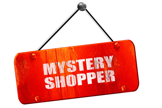 Mystery shoppers.....relevant today?