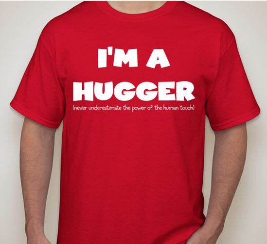 front of hugger tee