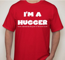 front of hugger tee
