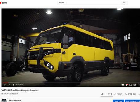 Unser neues Video ist online.