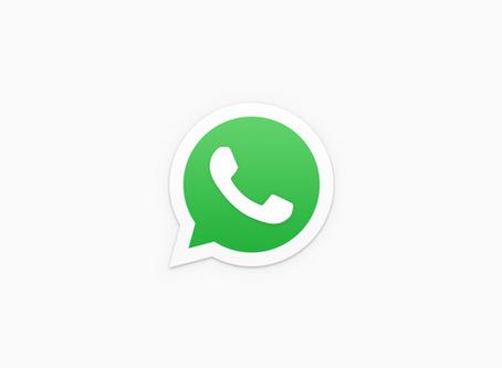 per WhatsApp erreichbar