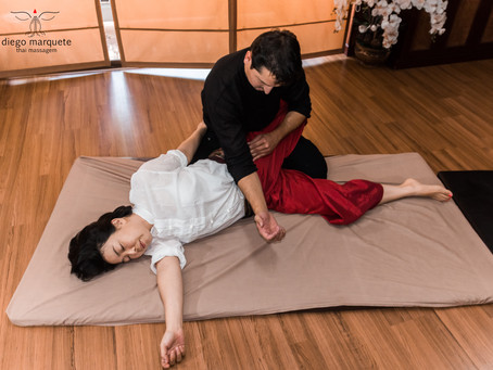 :: Thai massage, low back pain, and intestinal functioning improvement