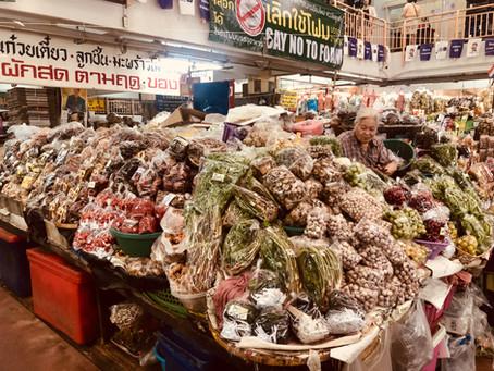 As ervas medicinais do mercado chinês e suas propriedades