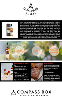 Tailored A+ Content for Compass Box Scotch Whisky