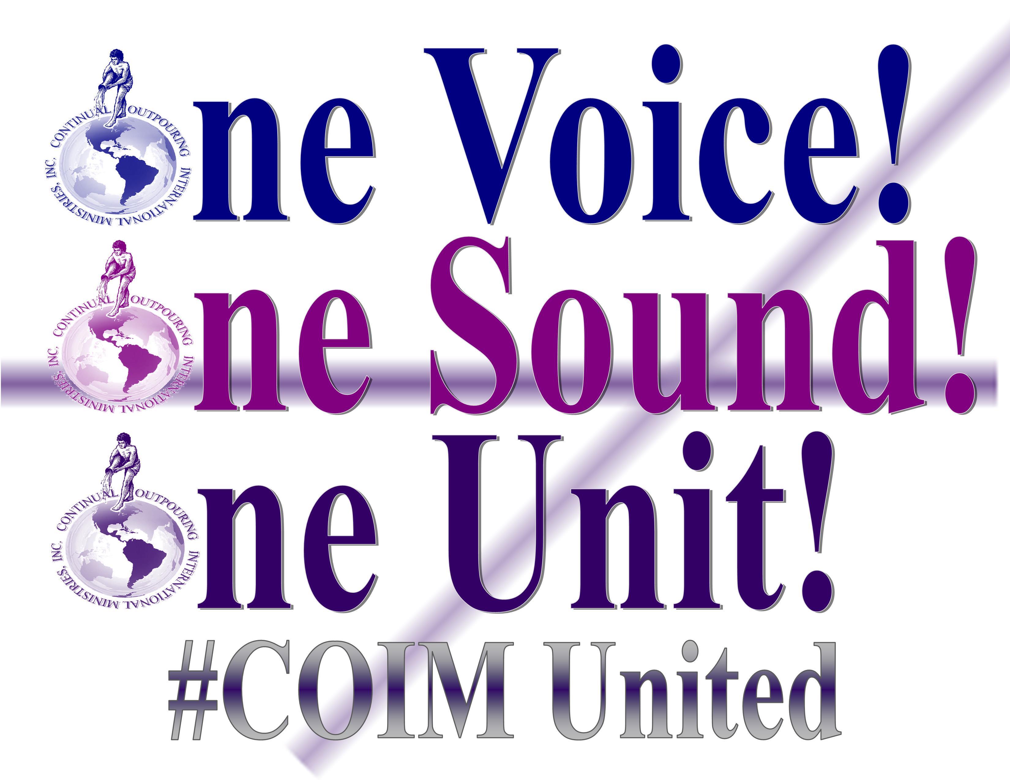 COIM One Voice Logo