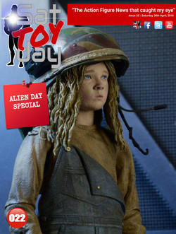 022 Action Figure Sat-TOY-day News, 30th April 2016