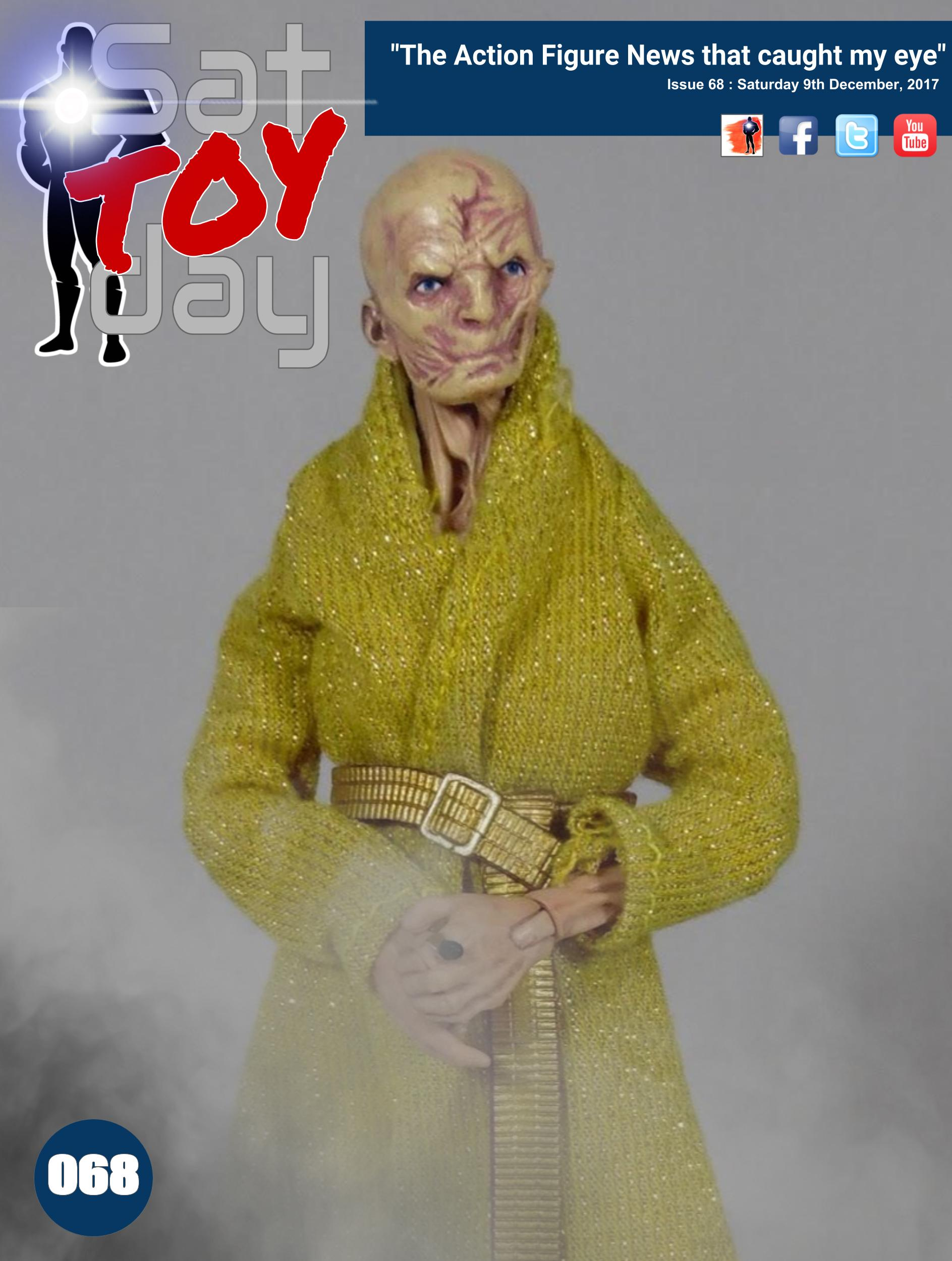 068 Action Figure Sat-TOY-day News, 9th December 2017