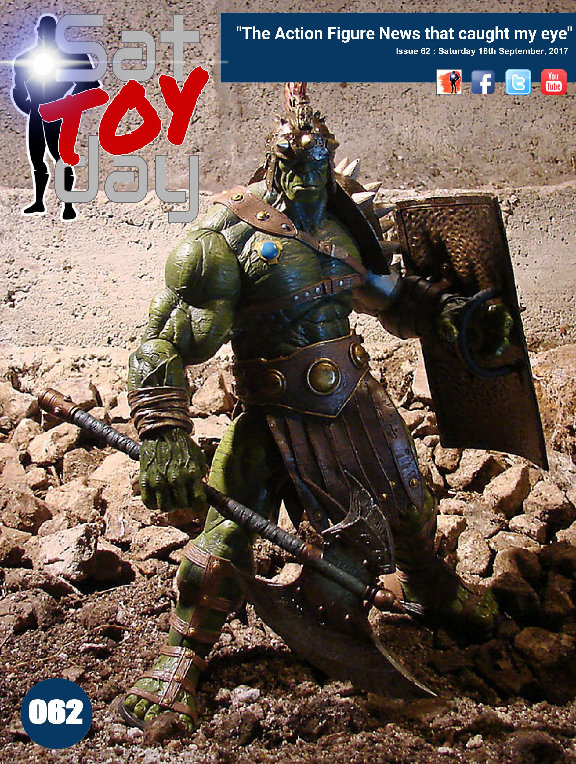 062 Action Figure Sat-TOY-day News, 16th September 2017